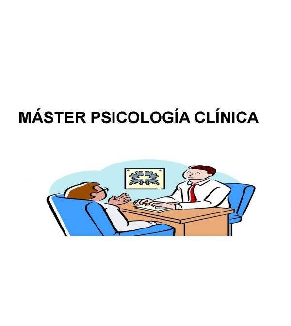 Máster Psicología Clínica SEMIPRESENCIAL
