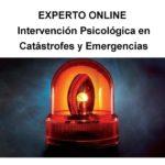 EXPERTO ONLINE: Intervención Psicológica en Catástrofes y Emergencias Expte.346/14