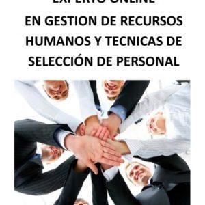 EXPERTO ONLINE: GESTIÓN DE RECURSOS HUMANOS Y TÉCNICAS DE SELECCIÓN DE PERSONAL POR COMPETENCIAS.